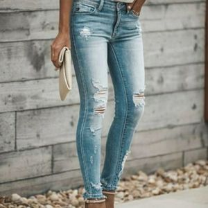 KanCan Austin distressed jeans